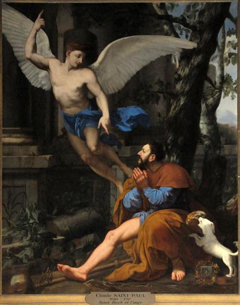 Saint Roch et l'Ange