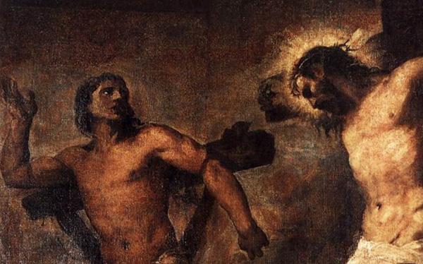 le Christ et le bon larron
