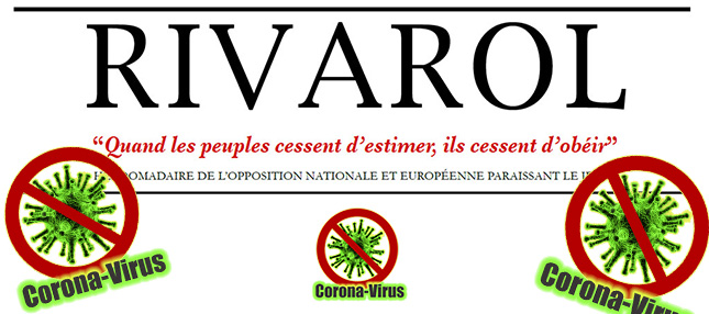 News au 3 avril 2020 Rivarol_coronavirus