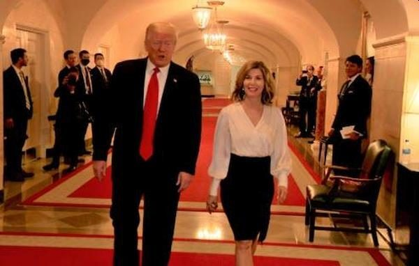 Donald Trump et Sharyl Attkisson