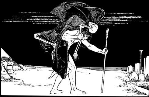 Dybbuk, une figure du folklore juif