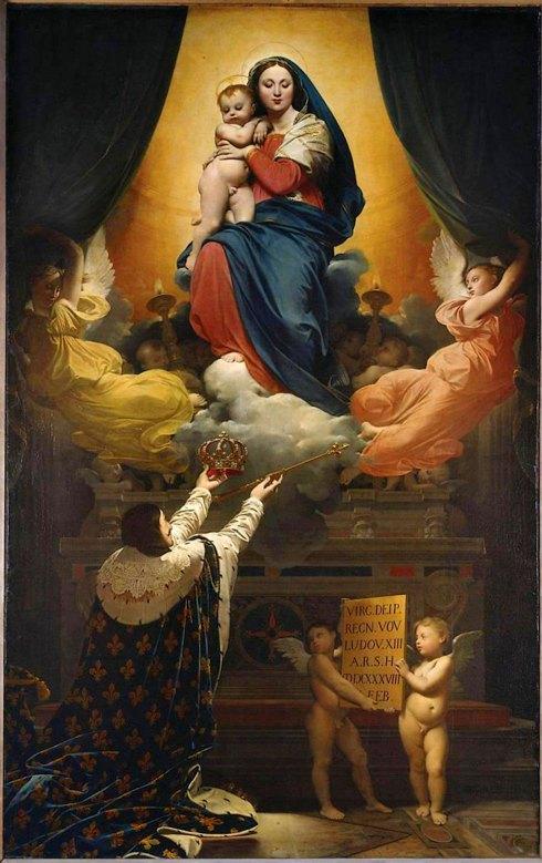 Le Vœu de Louis XIII, par Jean-Auguste-Dominique Ingres