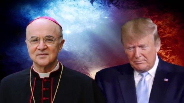 L'abbé Viganò et le Président Donald Trump
