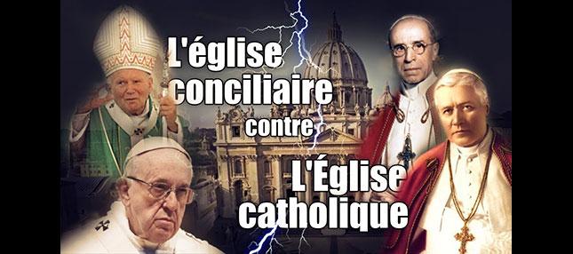 De La Passion de l'Église. La secte Conciliaire A TOUT DÉTRUIT…