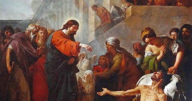 La guérison du paralytique par Jésus