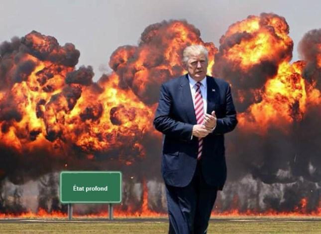 Le Président Donald Trump contre l'État profond (le Mondialisme)