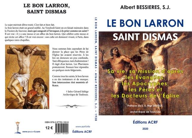 Le Bon Larron, du R.P. Albert Bessières, S.J.