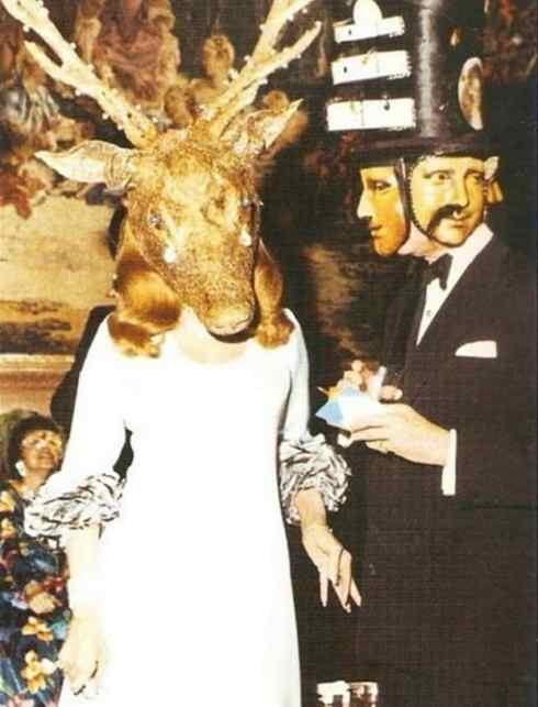 Masques du Rothschild «Illuminati Ball»