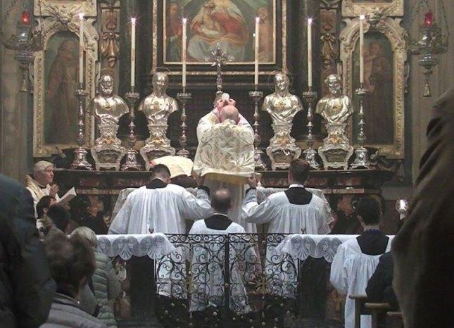 Messe selon le rite de Saint Pie V