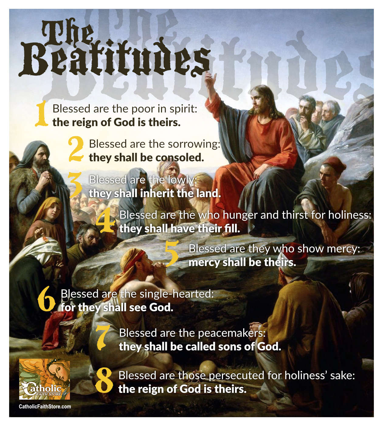 The Beatitudes The Key To Happiness