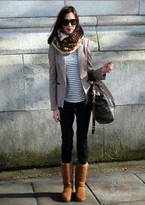 bota ugg jeans