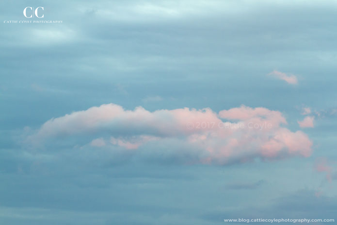 Pink and blue cloud by Cattie Coyle Photography