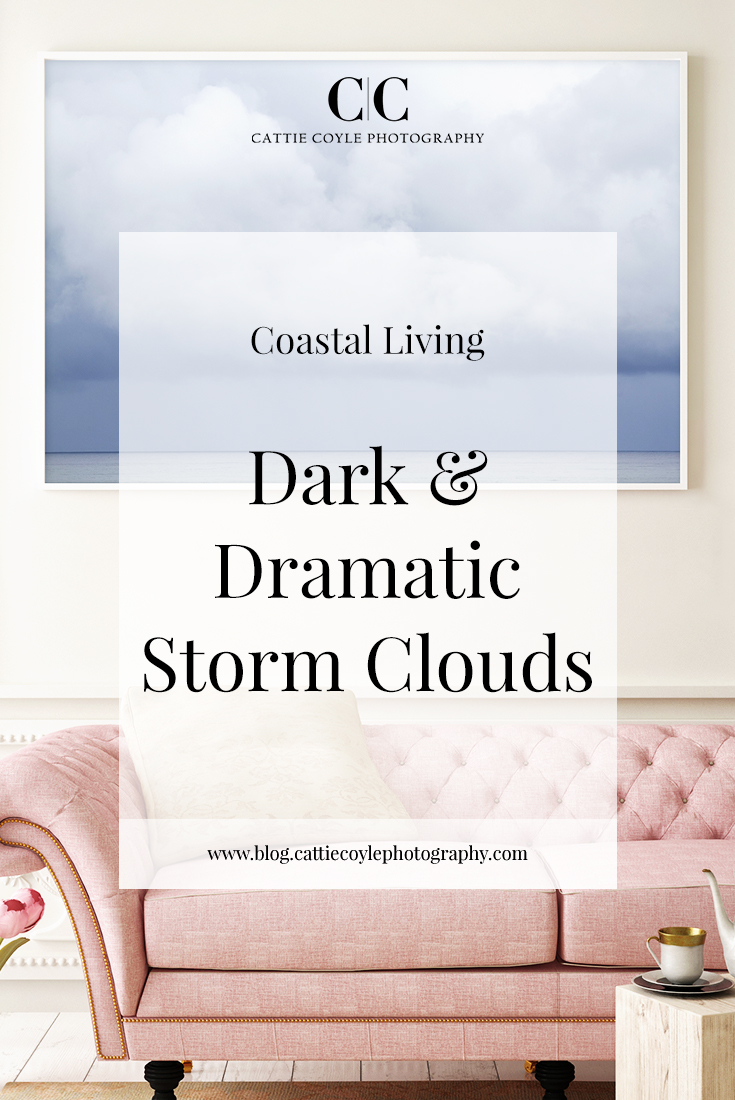 Dark and dramatic storm clouds off the island of Gotland, Sweden. The print series is available framed, unframed or as canvas wraps in sizes from smaller accent prints to extra large statement wall art pieces.