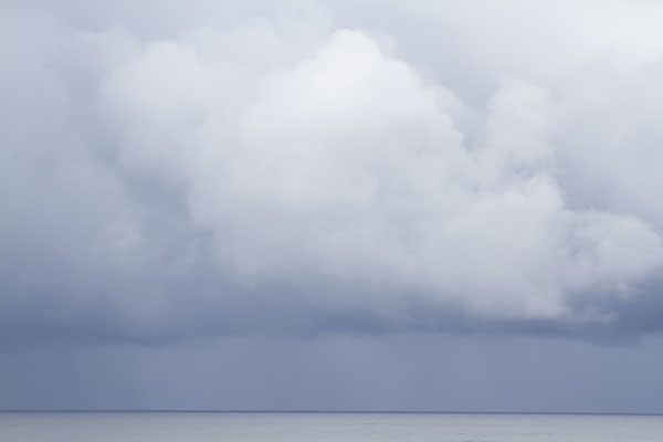 Summer Storm No 3 - Big storm cloud wall art by Cattie Coyle Photography