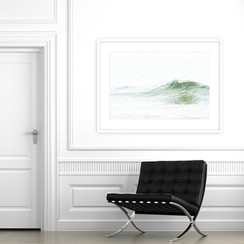 How To Size Art For A Wall Ocean Waves No 5 Living room wall art by Cattie Coyle Photography