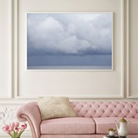 Summer Storm No 2 - Oversized cloud art print by Cattie Coyle Photography