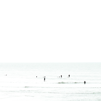 Waiting No. 5 - Surfing photography art print by Cattie Coyle Photography