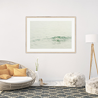 Ocean Waves No 7 - Beach cottage decor by Cattie Coyle Photography