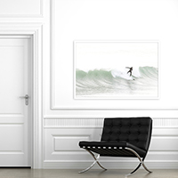 Surfing No 5 - Large art print by Cattie Coyle Photography
