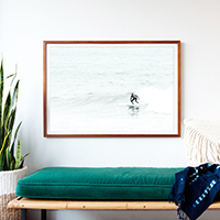 Surfing No 6 - Surfer print by Cattie Coyle Photography
