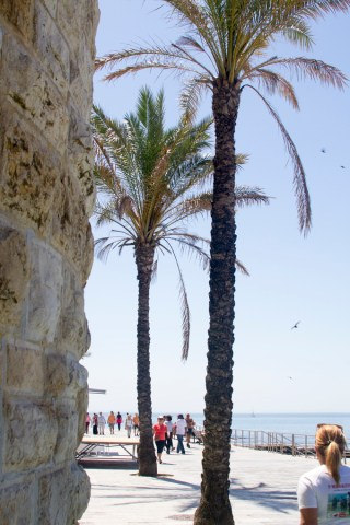 Cascais boardwalk by Cattie Coyle Photography
