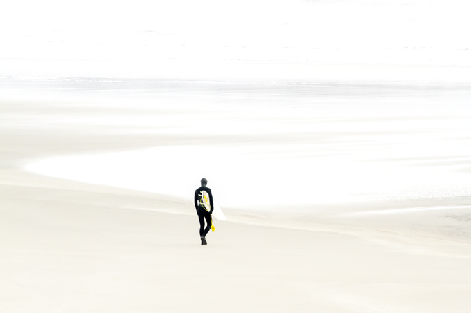 Surfer No 3 by Cattie Coyle Photography