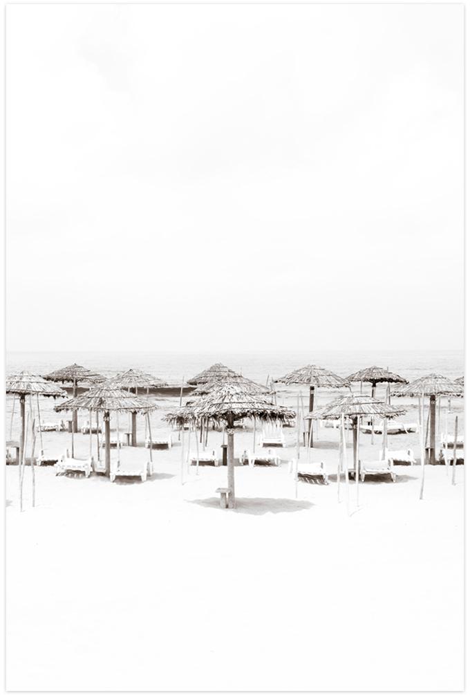 Beach Days No 1 Fine art print by Cattie Coyle Photography