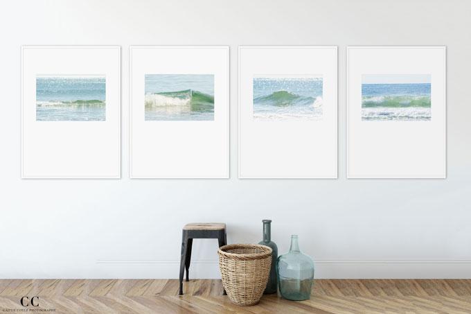 Ocean Waves - Fine art prints by Cattie Coyle Photography