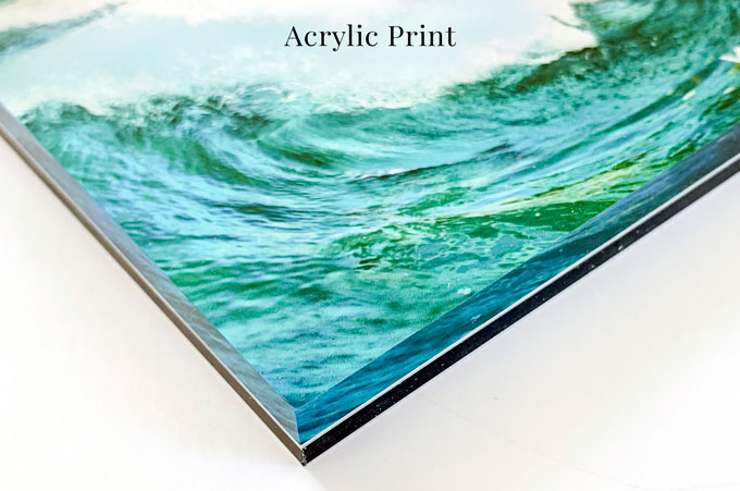 Buying Art Online: Acrylic glass print by Cattie Coyle Photography