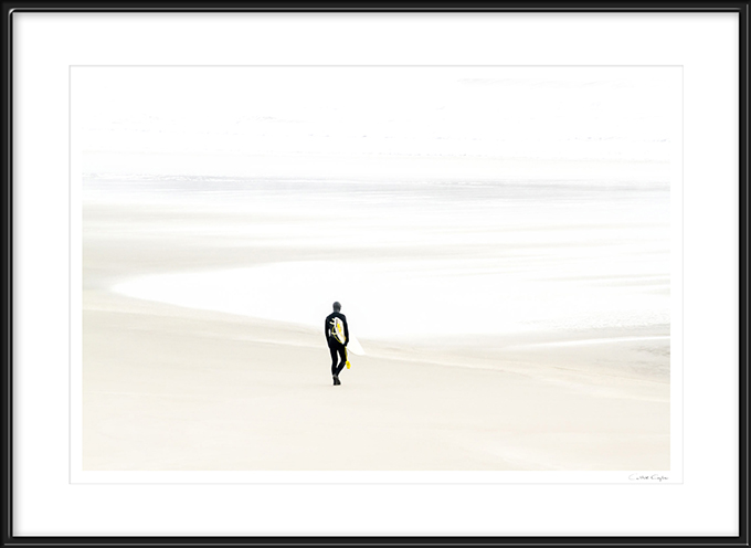 Surfer No 3 - Framed prints by Cattie Coyle Photography