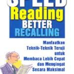 Speed Reading Better Recalling