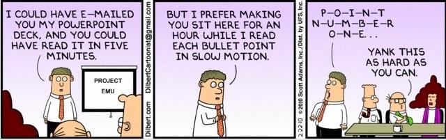 Dilbert - Productive meeting
