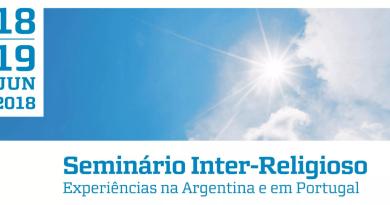 18 & 19 JUN | Seminário Inter-Religioso: experiências na Argentina e em Portugal