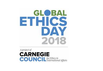 CEI-IUL junta-se ao Global Ethics Day 2018
