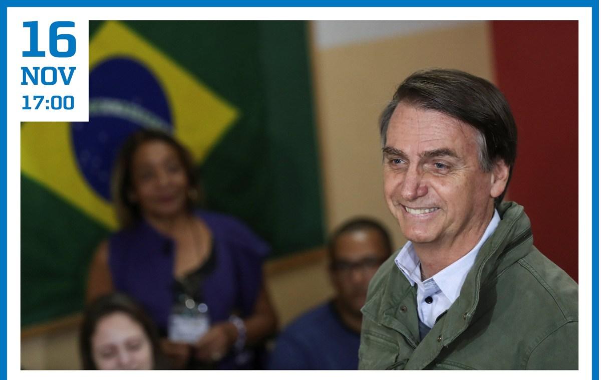 16 NOV | As eleições presidenciais e legislativas Brasileiras