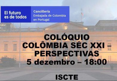 5 DEZ   Colóquio Colômbia Séc XXI – Perspectivas