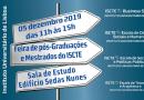 5 DEZ | Feira de Mestrados e Pós-Graduações do ISCTE-IUL