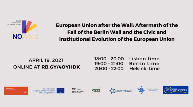 19 APR | WEBINAR – European Union after the Wall