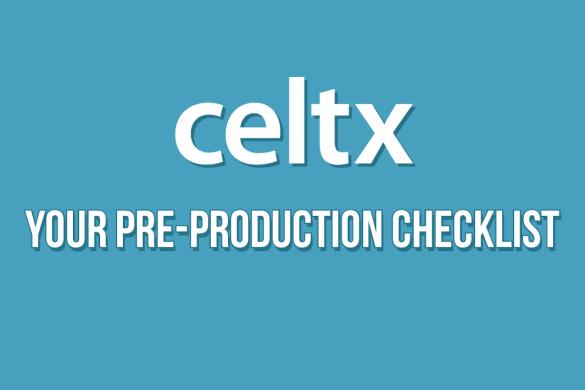 video pre production