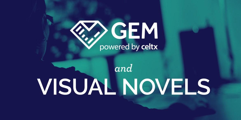 celtx gem visual novels