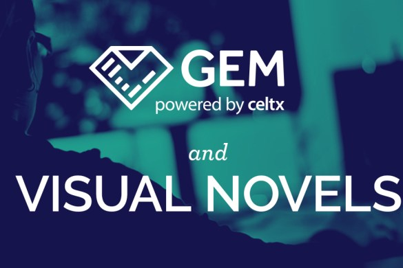 celtx gem visual novels