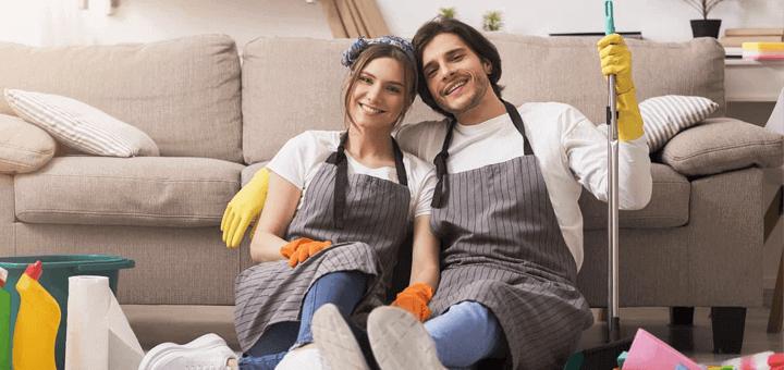Limpieza casa dpto