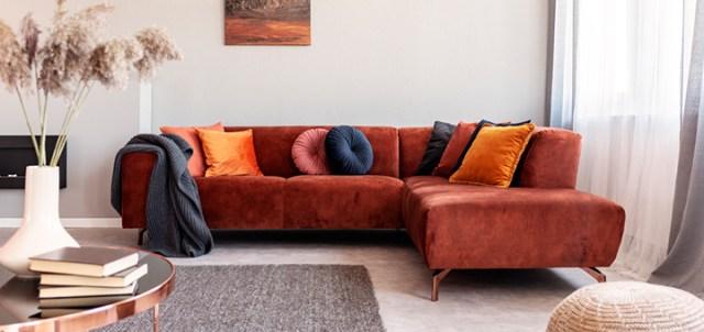 mueble en una sala