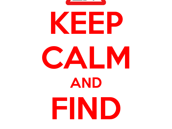 Keep Calm and Find a Job