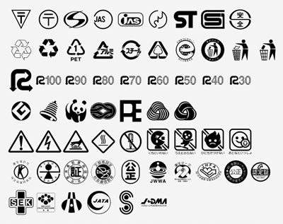 Preview : Recycling logos