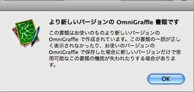 オムニグラフ4でのアラート画面1