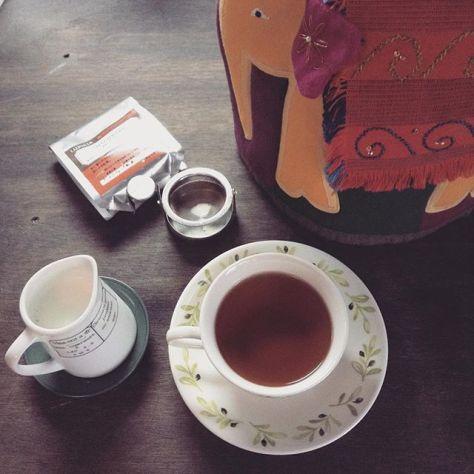 新しいお茶に出逢いたいと、そう思うわけです。 #teatime #ルピシア #シロニバリ #インド #アッサム (Instagram)