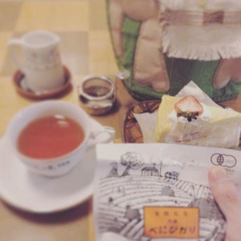 なんとなくケーキに注目!そんな気分の日もある。 #お茶の時間 #teatime (Instagram)