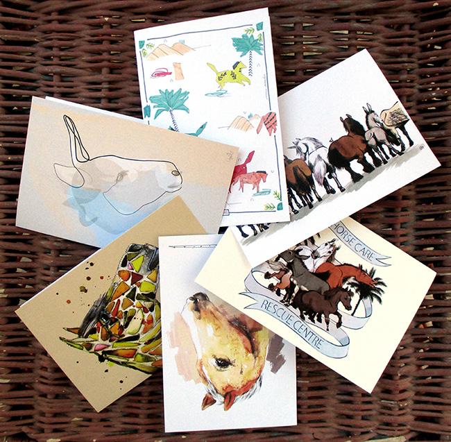Easy Horse Care Rescue Centre greeting cards