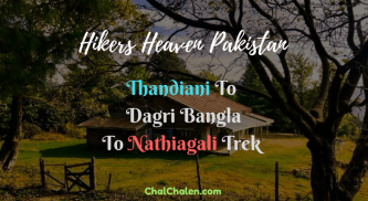 Hikers Heaven Pakistan Thandiani to Nathiagali Trek